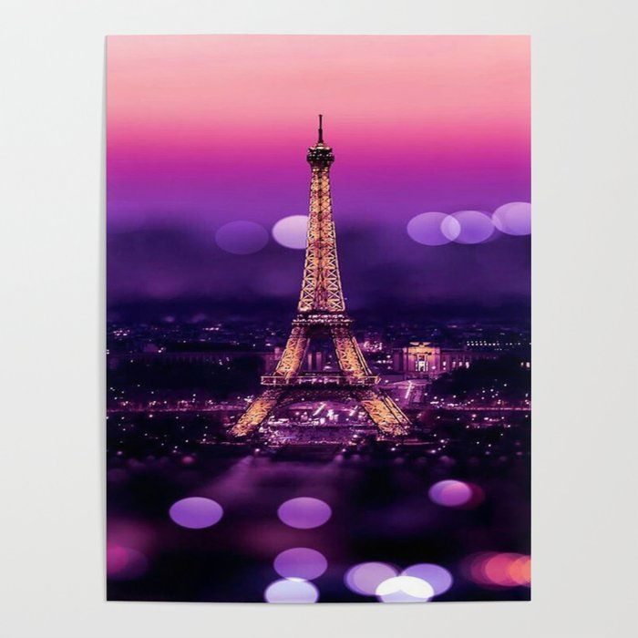 Eiffel Tower Art Poster by Exquisite - 18