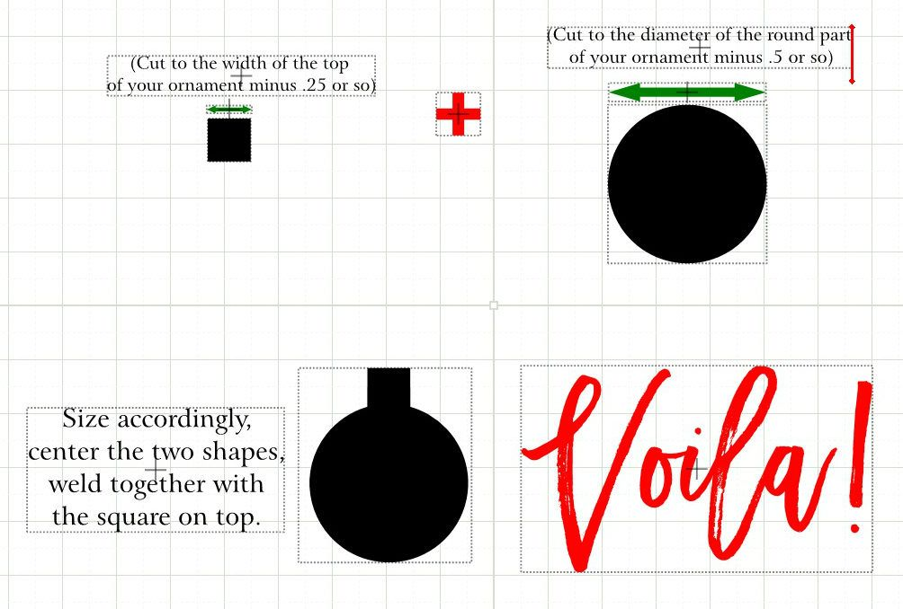 how to create a floating ornament vinyl pinterest ornaments