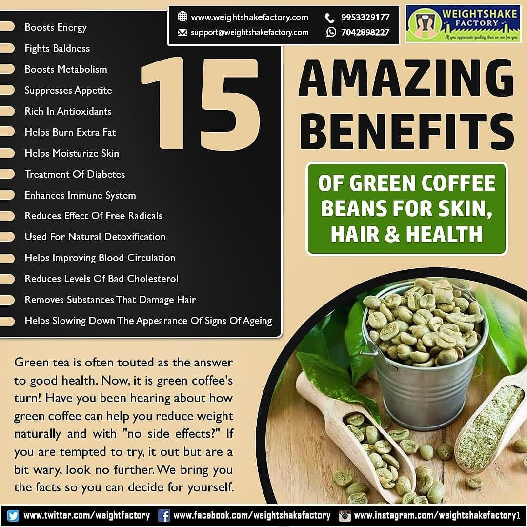 15 Amazing Benefits Of Green Coffee Beans For Skin Hair Health