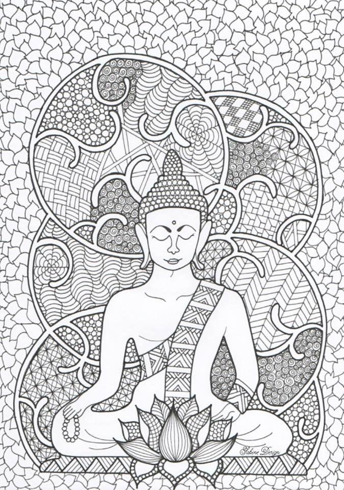 buddha coloring page 2 jpg 675 215 960 animal coloring