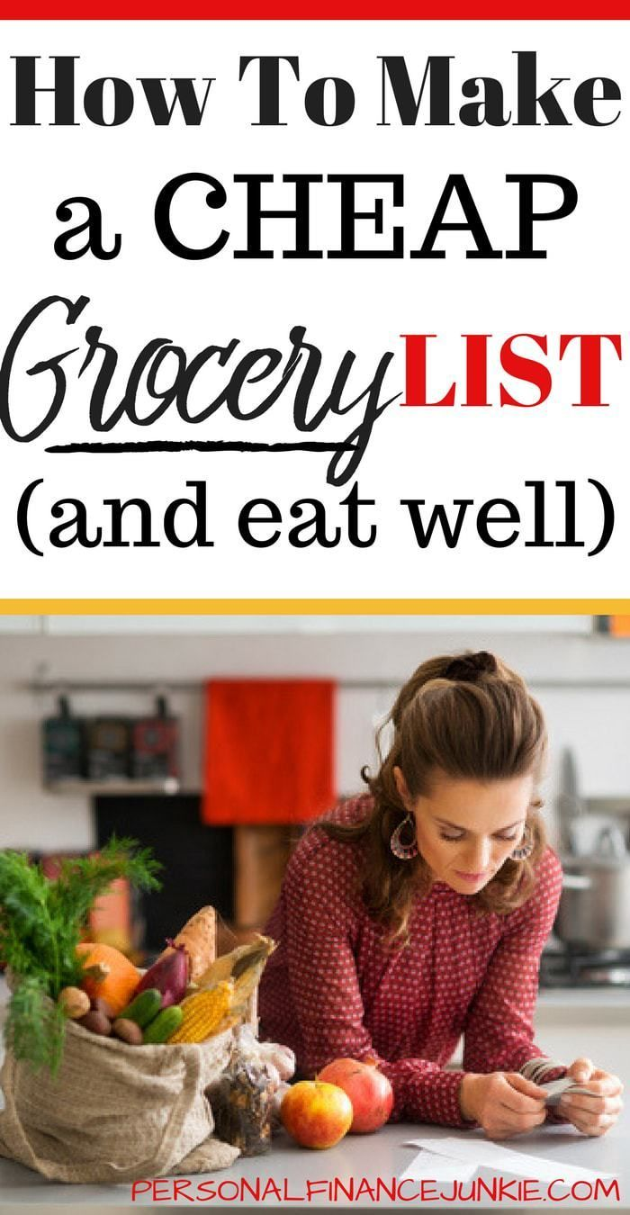 create a cheap grocery list  here u0026 39 s how  with examples