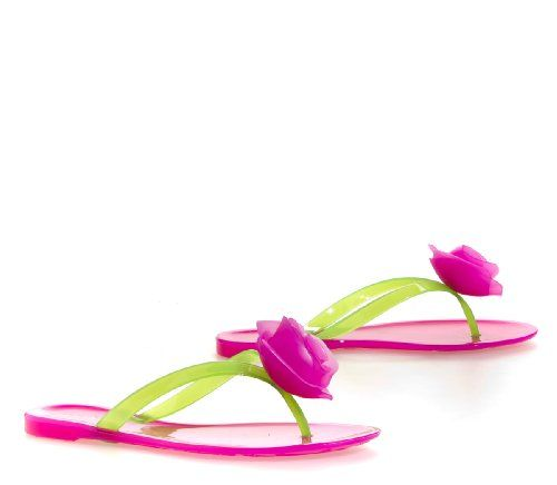 Bamboo HAWAII FLOWER Sandal -pop love these.