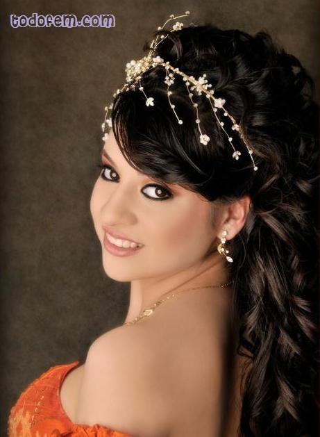 peinados para fiestas 15 anos | peinado de 15 con tiara para pelo largo