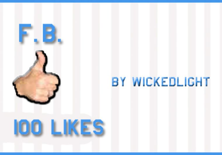 wickedlight: give you 100 real user Facebook Likes for $5, on fiverr.com