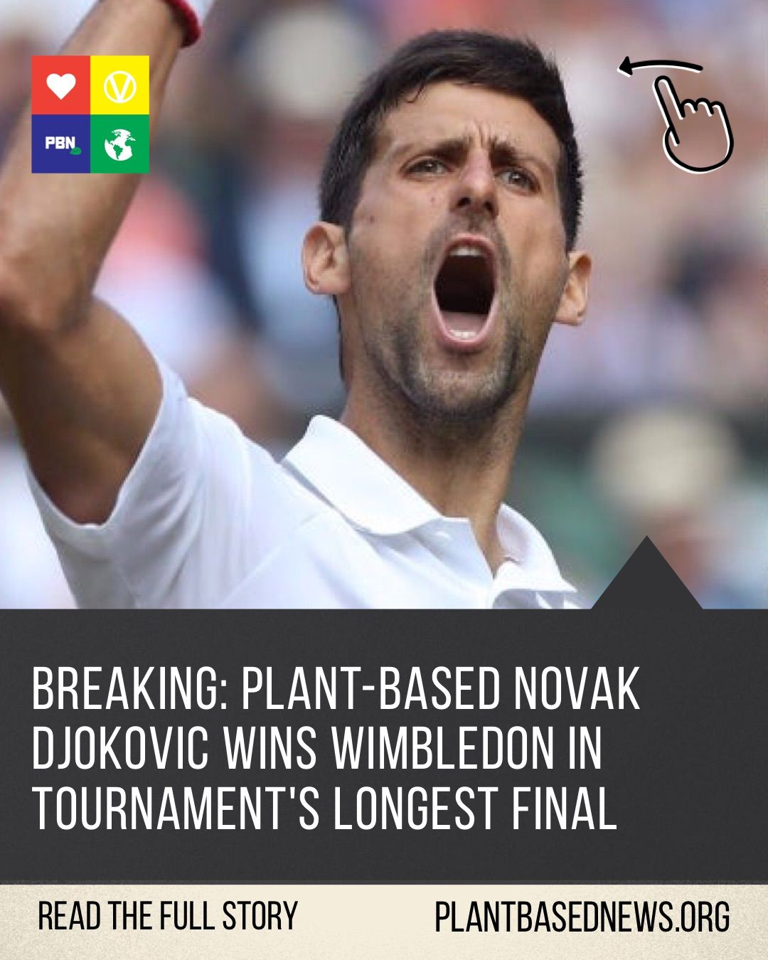 Breaking Plant Based Athlete Novak Djokovic Wins Wimbledon Novak Djokovic Wimbledon Wimbledon Champions