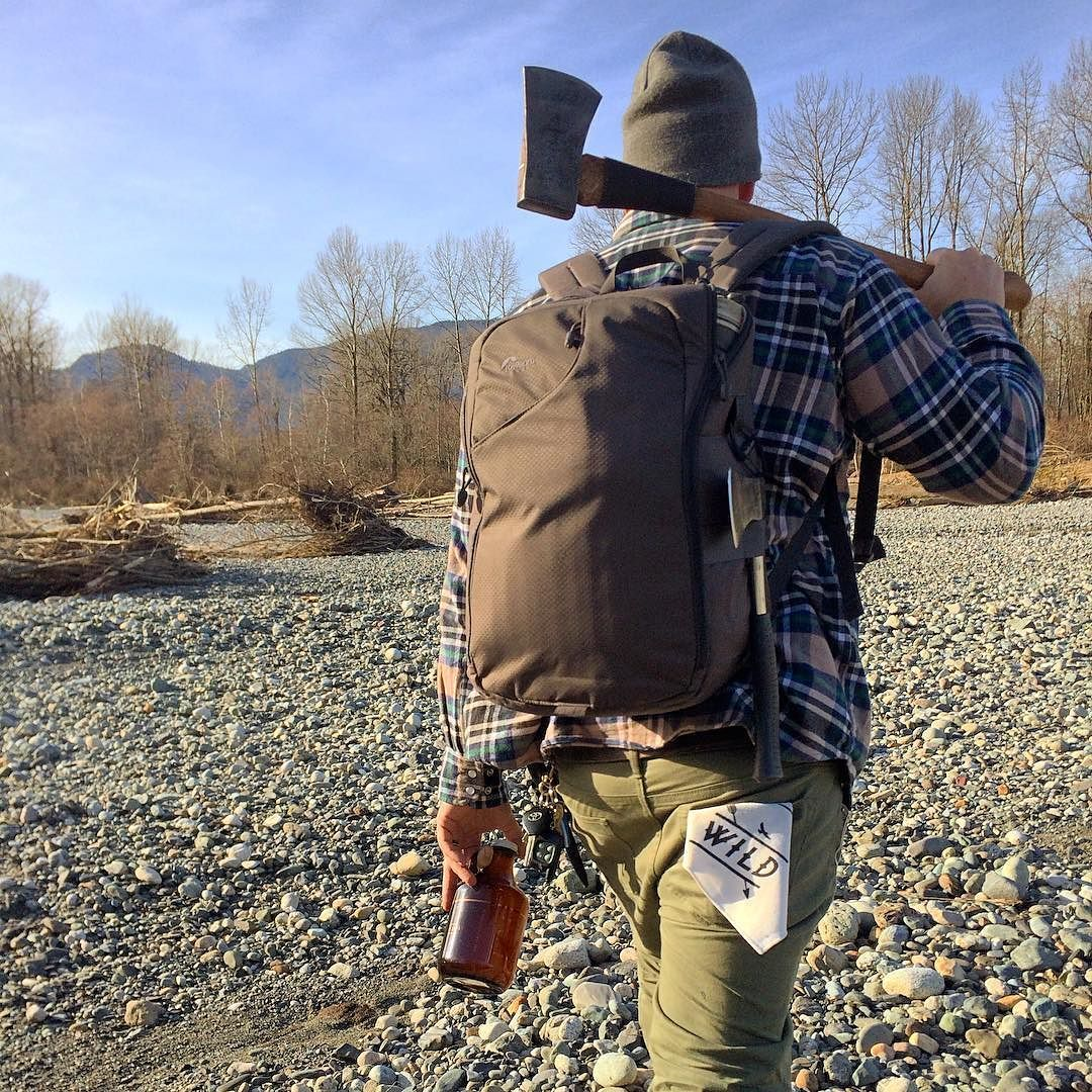 #wildoutdoorsclub - Built for adventure. / Headed to the river for a campfire and a cold craft brew. #wild #outdoors #mountainmen #outbound #adventure #lumberjack #firewood #intothewild #explore #campfire #axe #thewildoutdoors #exploremore #pnw #camping #backpacking #mountainman #beards #beer #growler #hikechilliwack #westcoast #thewildones #staywild #itsbetteroutside by wildoutdoorsclub