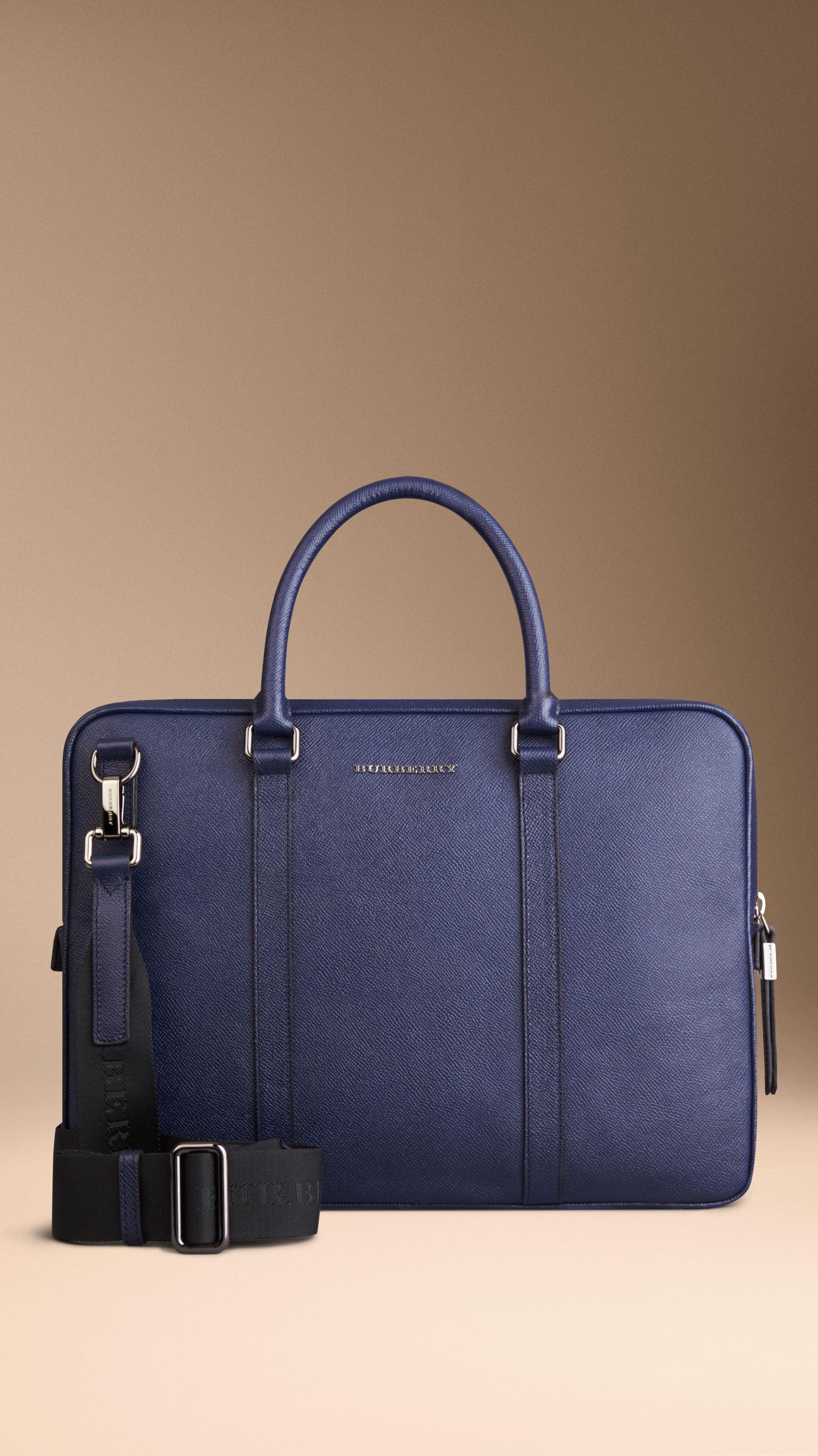 leder tasche umhängetasche handtasche italy aktentasche arbeitstasche d.blau