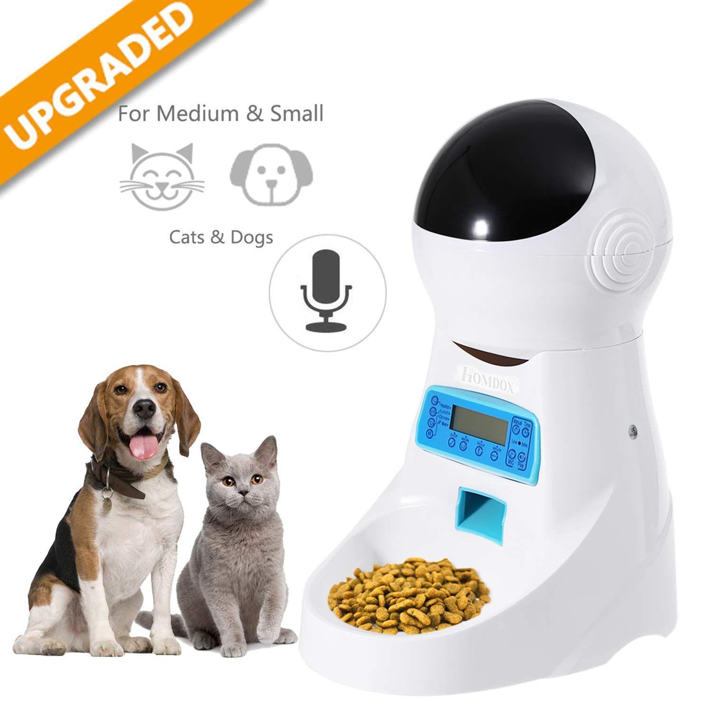 Automatic Cat Feeder Pet Food Dispenser Feeder Medium