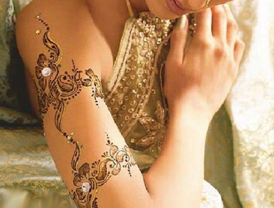 Take Safety Precautions Before Getting Black Henna Tattoo Arm