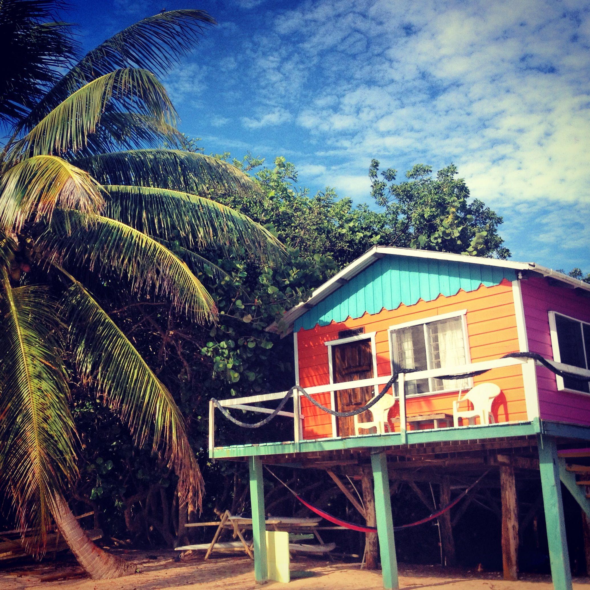 Caribbean Beach: House Styles, Beach House, House