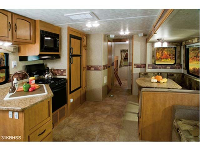 Love Getting Different Ideas On The Inside Of A Travel Trailer