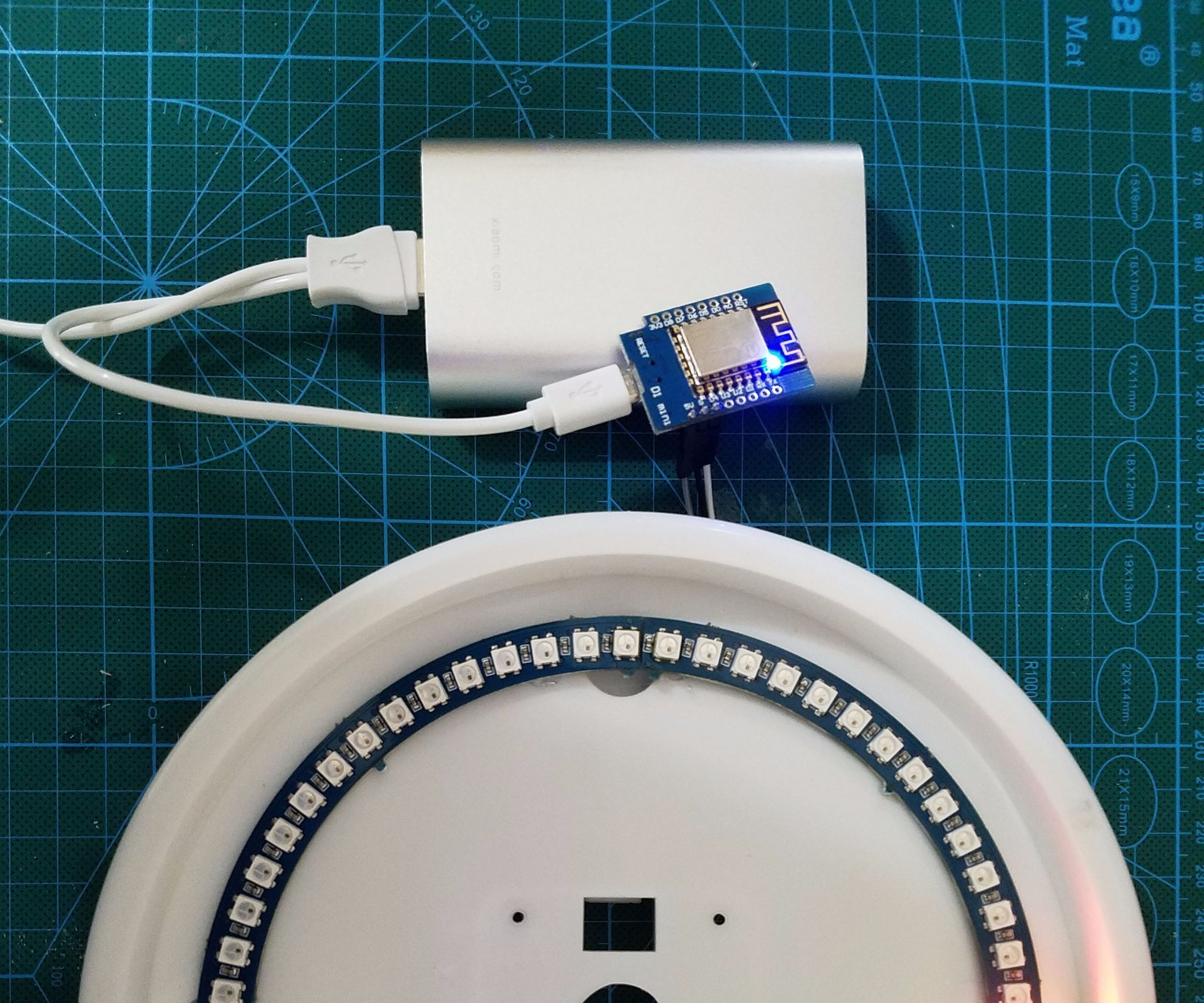 NeoPixel NTP Clock Using ESP8266 | IoT - Arduino / RasPi / NodeMCU