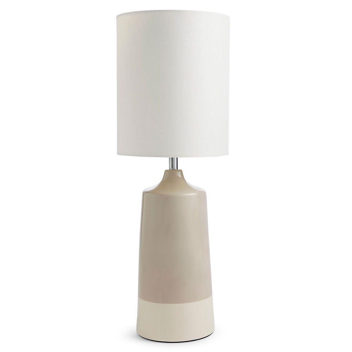 Capri Large Table Lamp Mocha H56 X W20 X D20cm Large Table
