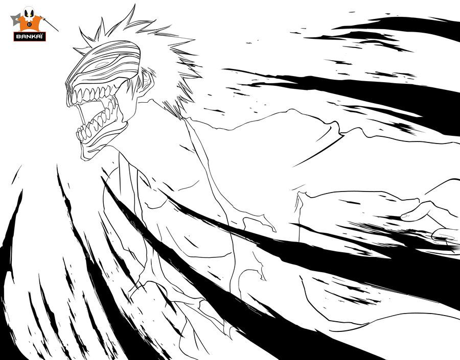 bleach coloring pages # 64