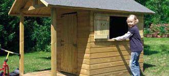 Casetta a blocco in legno bimbi pinterest bricolage - Letto montessori casetta ...