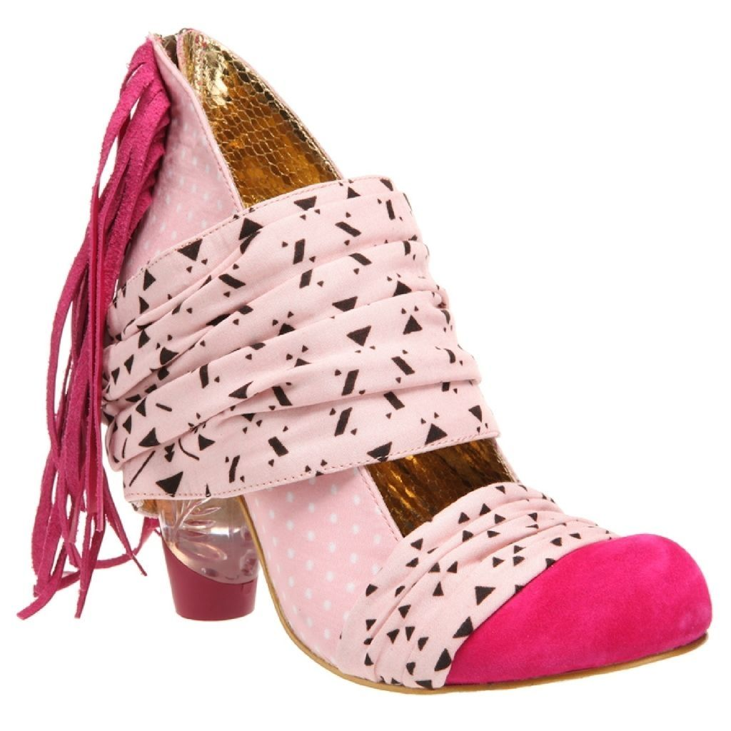 """IRREGULAR CHOICE: Milkshake Mush in Pink 