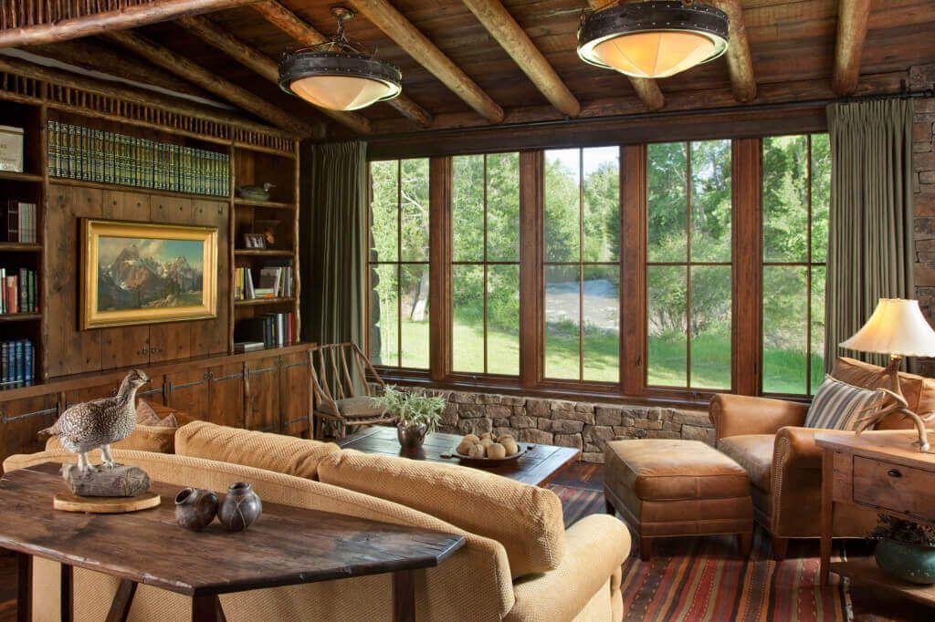 360 ranch cabin living