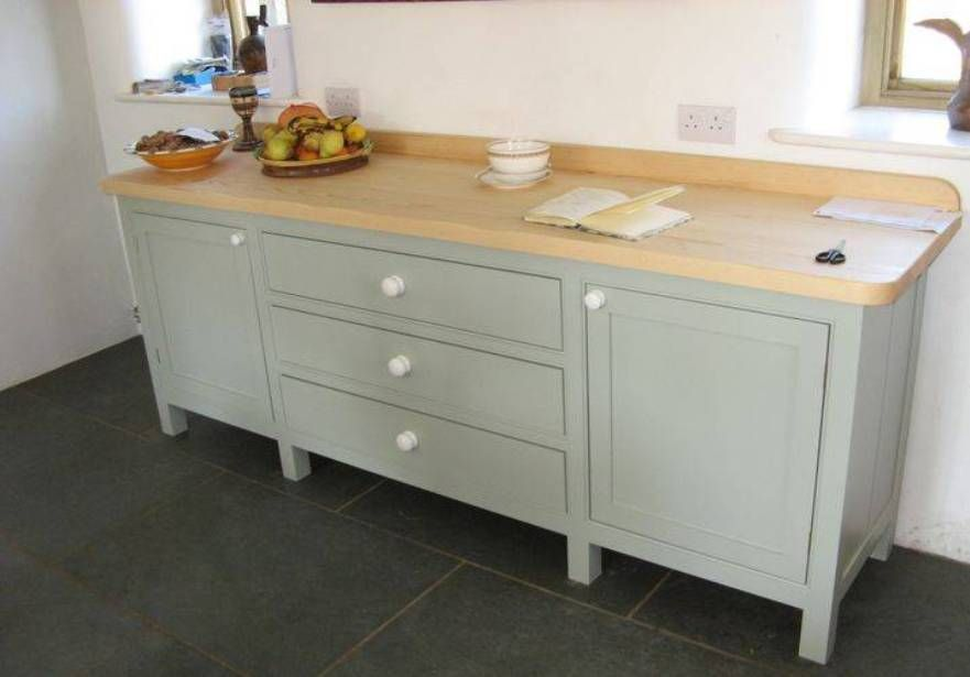 Furniture Benefits Of Free Standing Kitchen Cabinets With Solid Wood