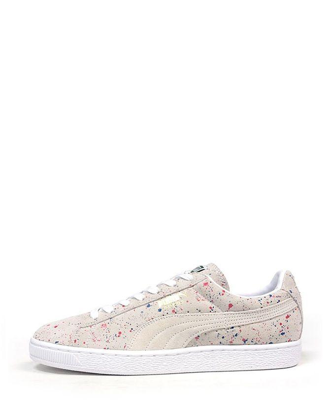'paint Q10w08 Shoes Snickers Puma Paint Suede Splat' Pinterest H50qpc4xw