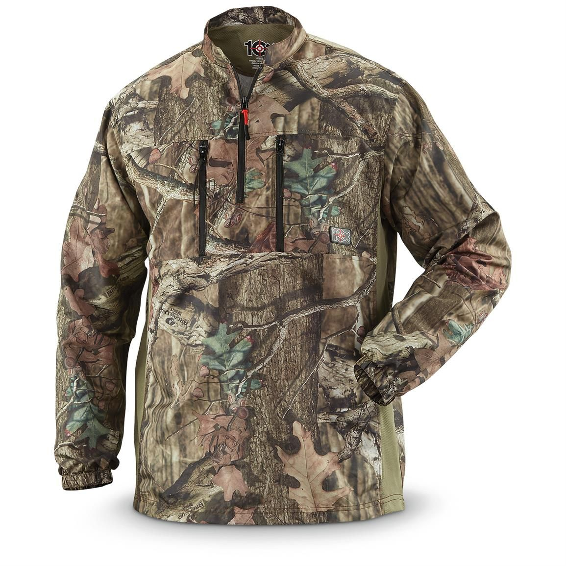 3fbaf2e4ba9f0 Walls 10X Men's Ultra-Lite Camo Pullover. Quiet, quick-drying and breathable.  Perfect for the field... and perfect for your budget at this close-Out  price!