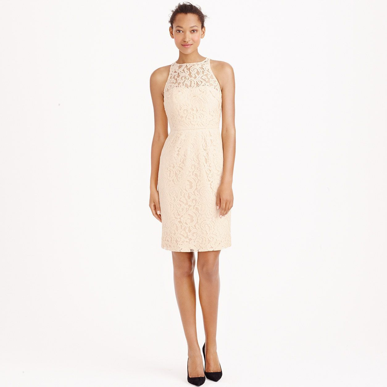 Pamela dress in leavers lace lace bridesmaids wedding and wedding
