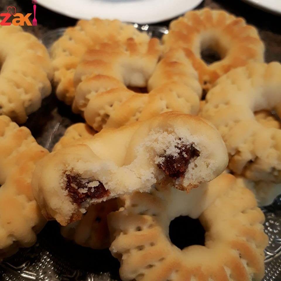 أبسط وأسرع طريقة لتنقيش كعك العيد بالطحين وبالفيديو زاكي Arabic Sweets Recipes Arabic Dessert Food
