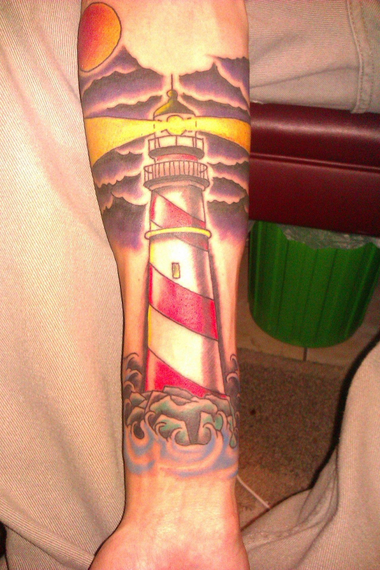 Lighthouse tattoo sailor tattoos