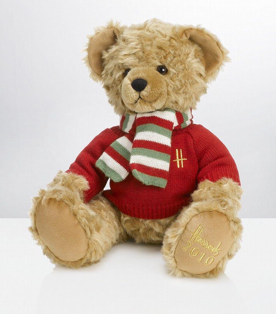 Christmas Bear.Harrods Teddy Bear 2 Random Harrods Teddy Bear Cute