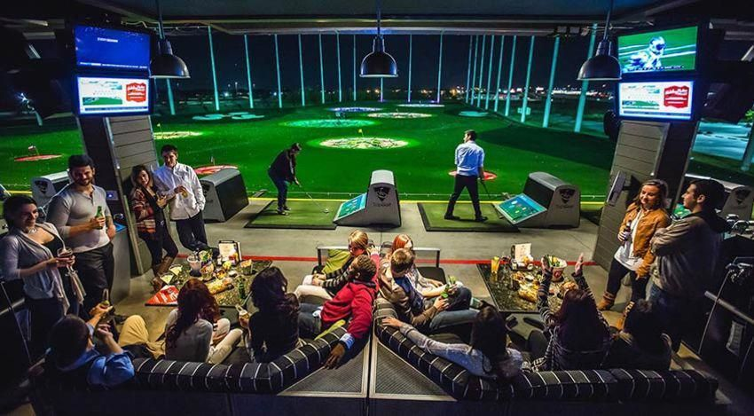 The Topgolf experience offers a different take on golf