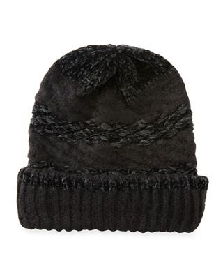 586c34d0aa2 Candela Ribbed Cashmere Beanie in 2019