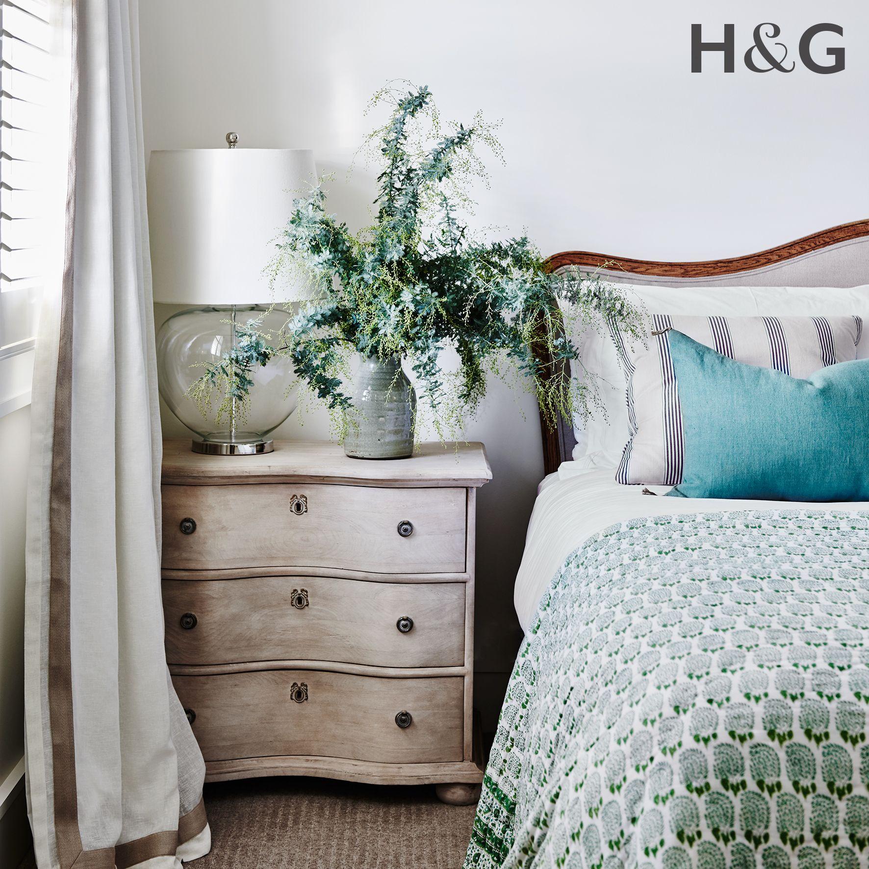 Hamptons Inspired Luxury Home Master Bedroom Robeson: Bedroom Details From Australian House & Garden Magazine