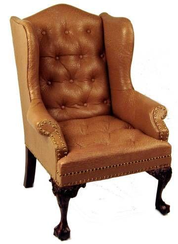 Gail Steffey Dollhouse Miniature Leather Furniture