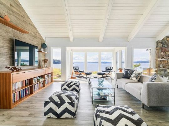 Pin By Leslie Howell On Color My Space Modern Beach House Mid