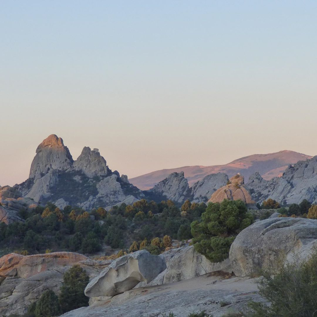 Good Morning City Of Rocks The Best Feeling In The World May Be Waking Up Here Cityofrocksstatepark Cityofrocksnatio State Parks Camping Fun G Adventures