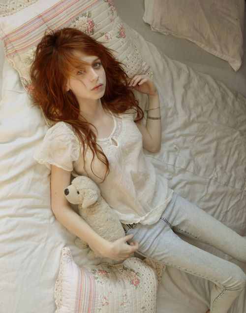 redhead girls Skinny