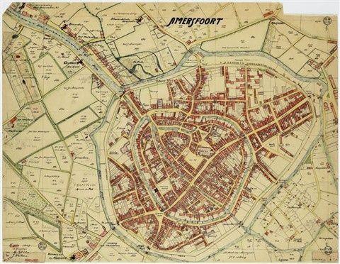 plattegrond van Amersfoort Amersfoort Pinterest City maps and City