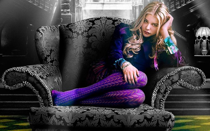 Movies, Dark Shadows, Stockings, Chloë Grace Moretz