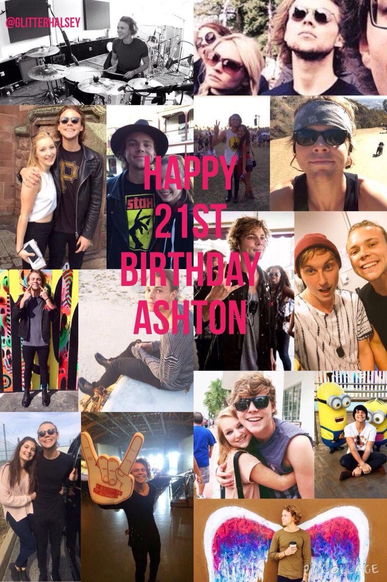 HAPPY 21ST BIRTHDAY ASHTON