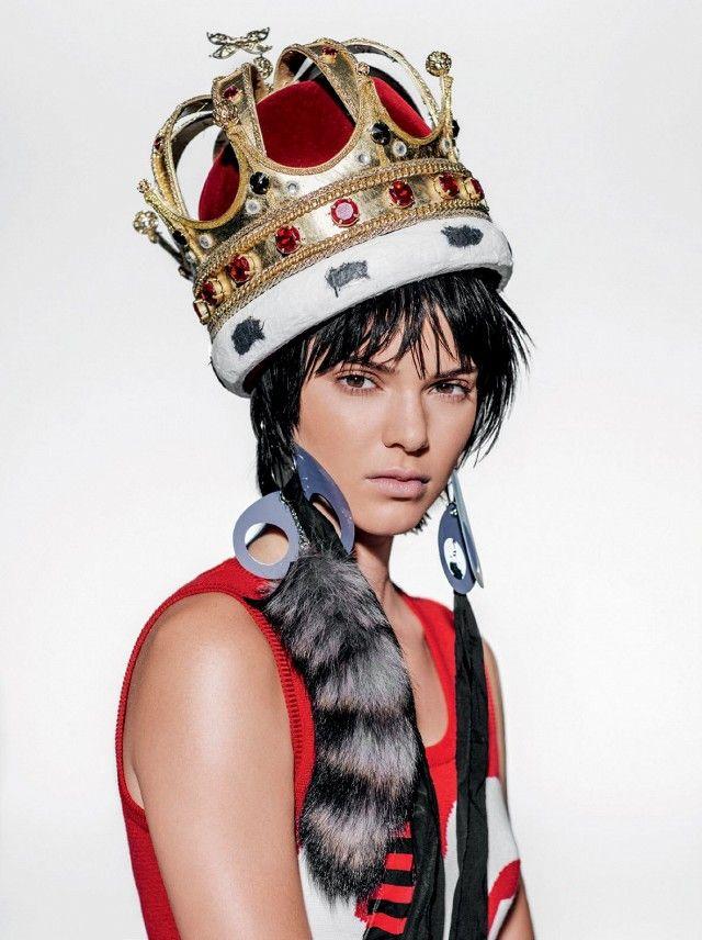 Kendall Jenner for Vogue Brazil