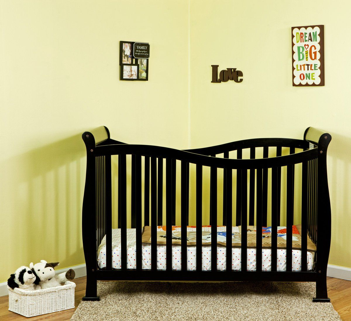 Amazon.com : Dream On Me Violet 7 in 1 Convertible Life Style Crib ...