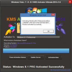 Windows 7, 8, 8 1, Vista KMS Activator Ultimate 2014 Full