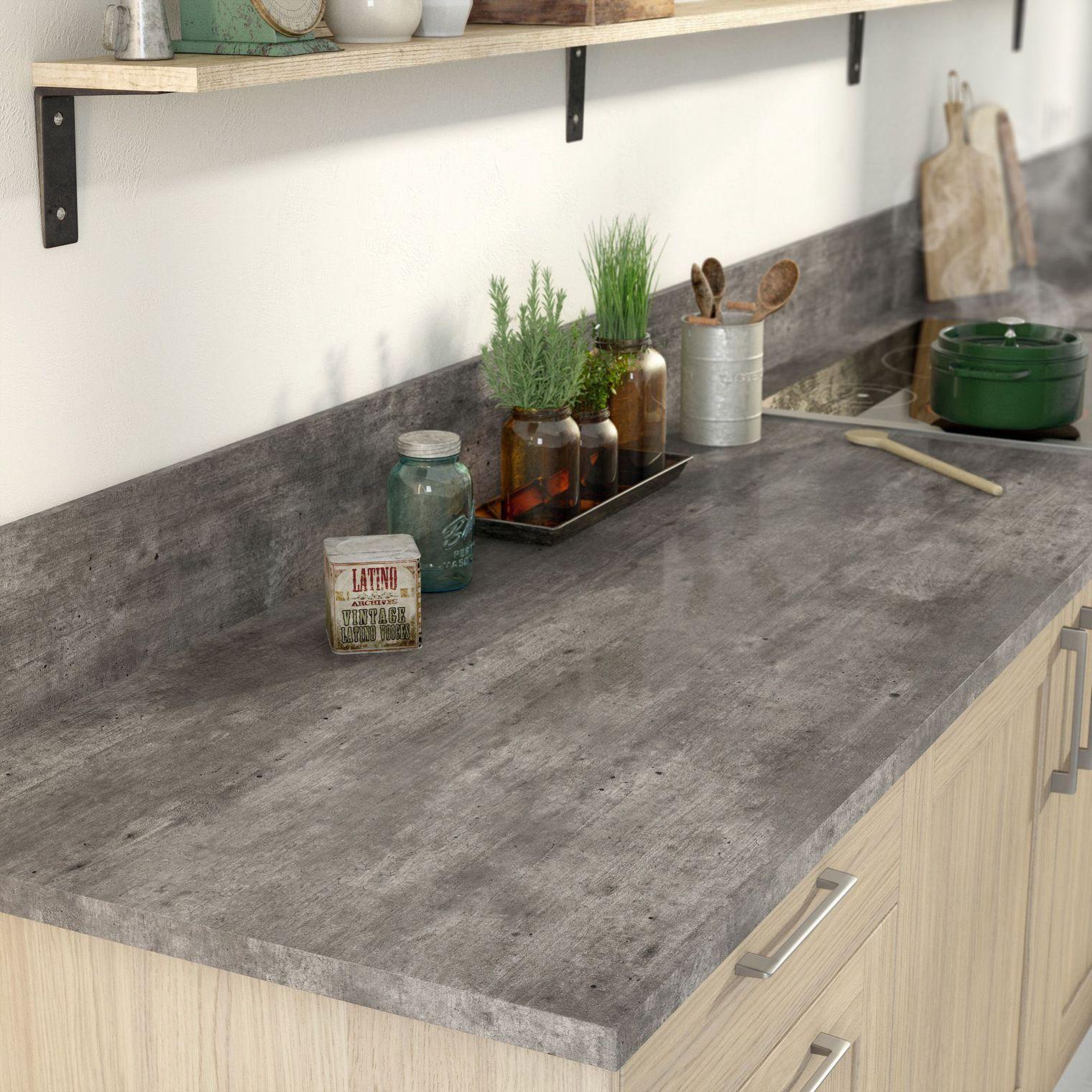 Béton Ciré Plan De Travail Cuisine béton ciré dans la cuisine | plan de travail cuisine, beton
