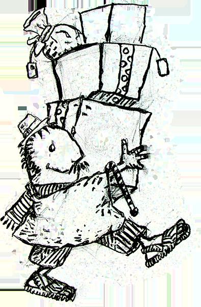 Campesino Papa Noel   ink-sketch   Pinterest   Papa noel, Noel y Papa