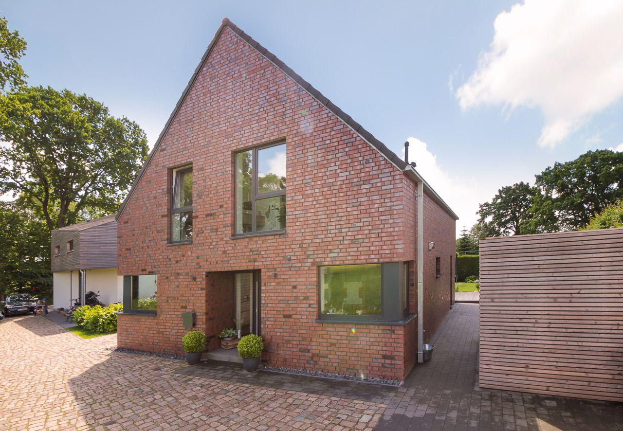 Mit Vielen Ideen Zum Traumhaus Eco System Haus Haus Fassade Haus Klinkerhaus