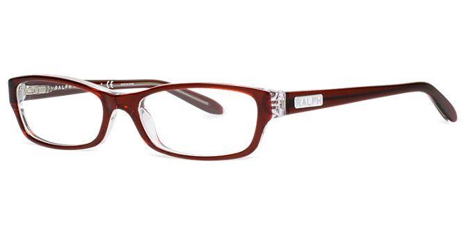Ra7040 Shop Ralph Rectangle Eyeglasses At Lenscrafters Lenscrafters Eyeglass Accessories Red Eyeglass Frames