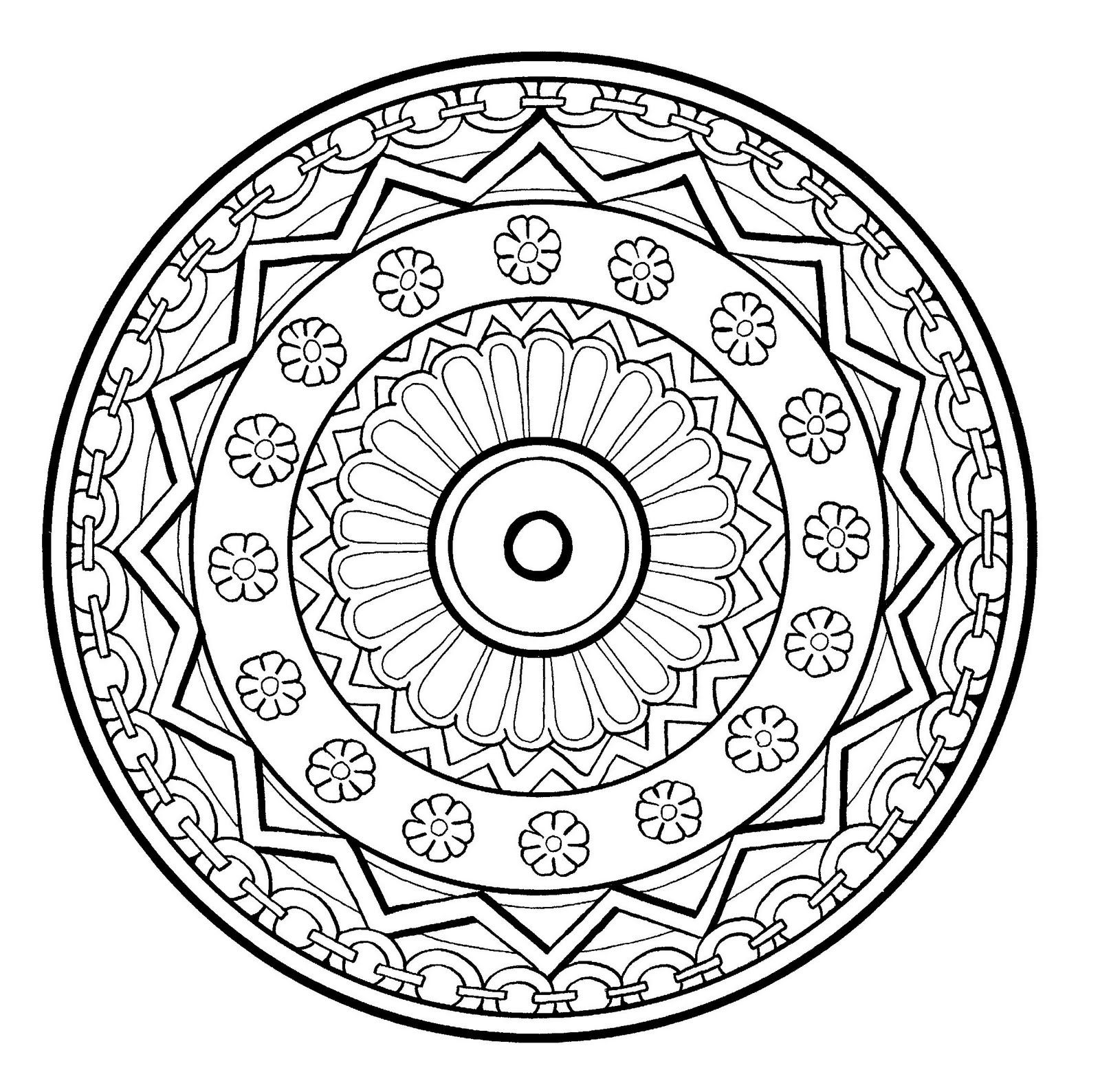 Coloring pages you can color on the computer for adults - These Printable Mandala And Abstract Coloring Pages Relieve Stress And Help You Meditate