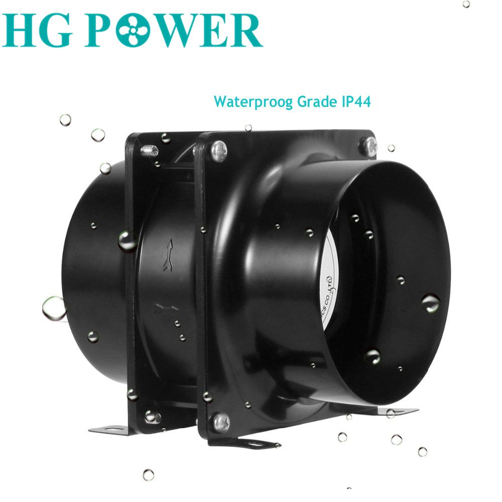4 6inch Meatal Exhaust Inline Duct Fan Ventilation Fan For Greenhouse Grow Tents With Carbon Filters Air Exhaust Fa Ventilation Fan Exhaust Fan