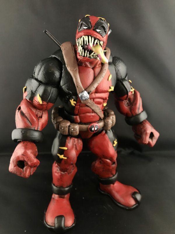 Venompool  Large Custom Bock figure Toys