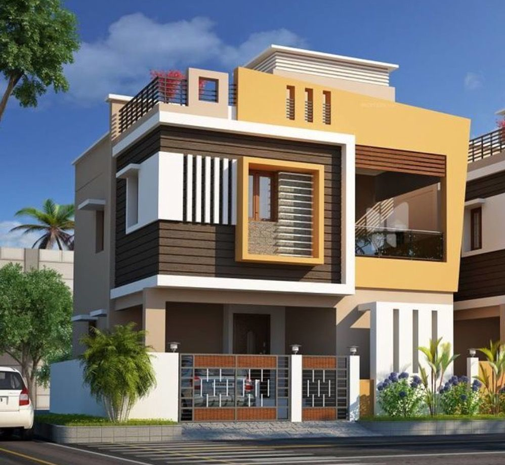 Home Design Exterior Ideas In India: Simple House Design, Simple