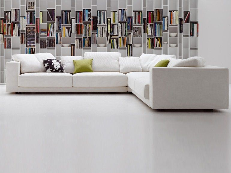 Corner Fabric Sofa With Removable Cover Sliding Sofa Collection By MDF  Italiau2026